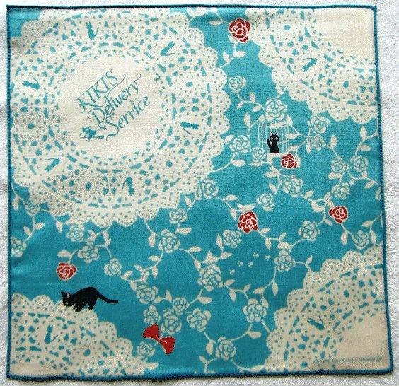 Handkerchief - Jiji - Kiki's Delivery Service - Ghibli - 2009 (new)