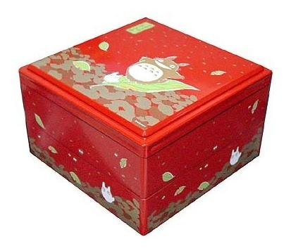 SOLD-Big Hors d'oeuvre -4 Container-Japanese Style- Totoro - Ghibli -madeinJapan-outproduction(new)