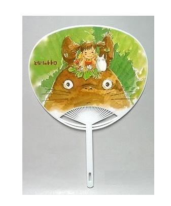 Fan / Uchiwa - Totoro & Sho Totoro & Mei - Ghibli - out of production (new)