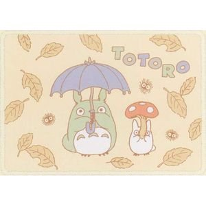SOLD - Blanket (S) 70x100cm - Polyester & Microfiber - Totoro - Ghibli -outofproduction- 2008(new)