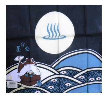 SOLD- Tenugui Japanese Towel - Oshira sama - Spirited Away -made in Japan- outproduction (new)