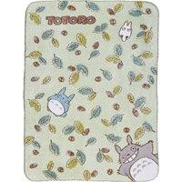 Blanket (M) - 100x140cm - Polyester & Microfiber - Totoro & Chu & Sho - Ghibli - 2009 (new)