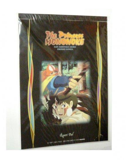 1 left - Report Pad - 18.2x25.7cm - Mononoke - Ghibli -out of production (new)