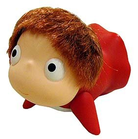Doll - play in water - move hands - Ponyo - Ghibli - 2009 (new)