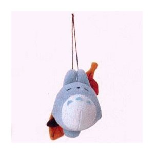 2 left - Strap - Mascot - Chu Totoro Sleeping on Leaf -out of production (new)