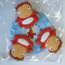6 left - 3 Clip Set - Ponyo - Ghibli - 2008 - out of production (new)