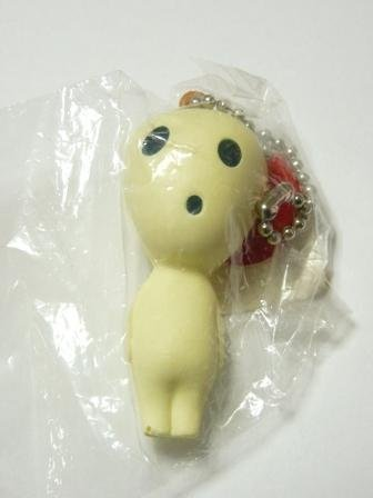 SOLD - Chain - Soft Kodama #1 - came with VHS in 1998 - Mononoke - Ghibli -outproduction(new)
