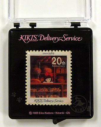Pin Badge in Case - 20th Anniversary - Jiji - Kiki's Delivery Service -2009- no production (new
