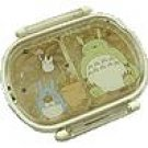 Lunch Bento Box - dishwasher & microwave - oval - made in Japan - Totoro - Ghibli - 2009 (new)