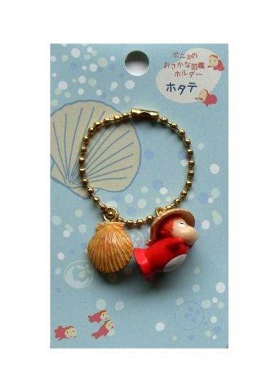 Chain Strap - Ponyo & Shell - Gake no Ue no Ponyo - Ghibli - 2009 - no production (new)
