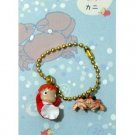 Chain Strap - Ponyo & Crab - Gake no Ue no Ponyo - Ghibli - 2009 - no production (new)
