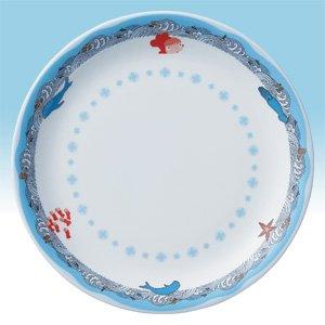 Plate 27cm - Noritake - Bone China - made in Japan - Ponyo - Ghibli - 2009 (new)