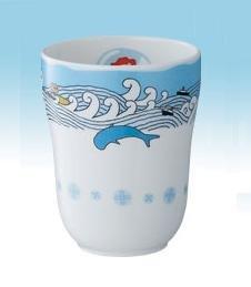 SOLD - Cup - Noritake - Bone China - made in Japan- Ponyo - Ghibli -2009- no production (new)