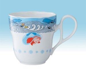 Mug Cup #2 - Noritake - Bone China - made in Japan - Ponyo - Ghibli - 2009 (new)