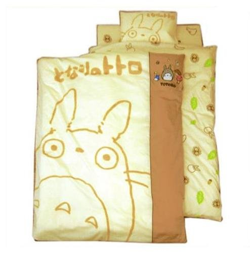 Baby Bed 10 Set - Blanket & Pillow & Pad & Sheets & Case - Totoro - Ghibli - 2009 (new)