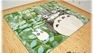 Rug / Hot Carpet Cover - 200x250cm - Acrylic & Carving - Totoro & Sho & Kurosuke - Ghibli -2009(new)