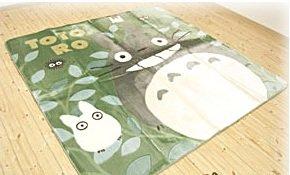 Rug / Hot Carpet Cover - 185x185cm - Acrylic & Carving - Totoro & Sho & Kurosuke - Ghibli -2009(new)