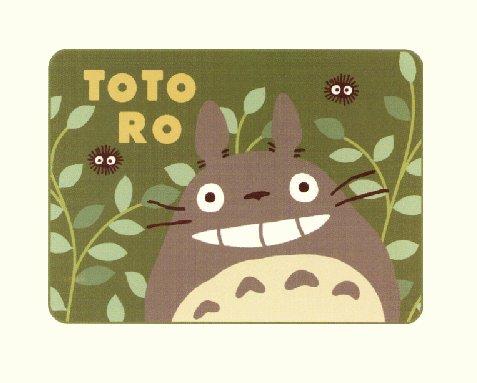 Rug / Hot Carpet Cover - 135x185cm - Acrylic & Carving - Totoro & Sho & Kurosuke - Ghibli -2009(new)