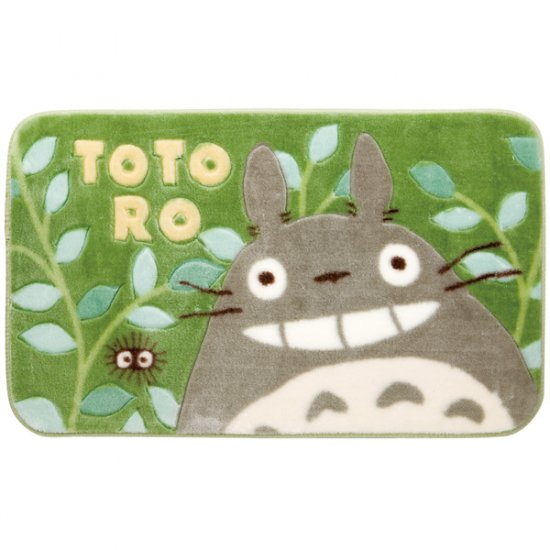 Rug Mat - 50x80cm - Acrylic & Carving - Totoro & Sho & Kurosuke - Ghibli -2009(new)