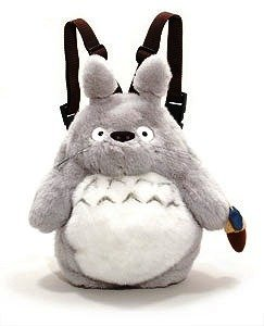 Backpack Bag (L) - Plush Doll - Totoro - Ghibli - Sun Arrow (new)