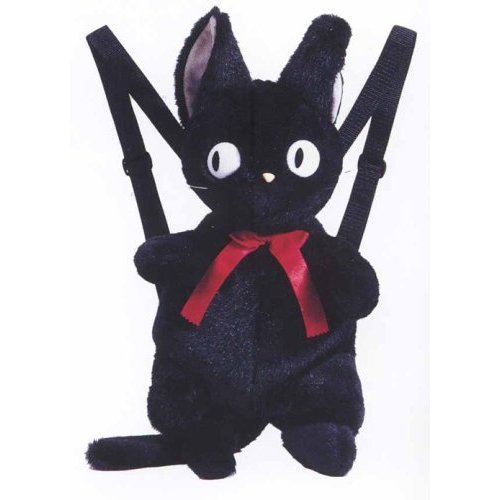 SOLD - 20%OFF - Backpack Bag - H50cm - Plush Doll - Jiji - Kiki's Delivery Service - Ghibli (new)