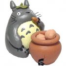 3 left - Figure & Pot - 5 Unglazed Acron - Soak Fragrance - Totoro - Ghibli - no production (new)