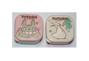 SOLD - 2 Mini Bento Lunch Box / Tupperware - Totoro - Ghibli -made in Japan- outofproduction (new)