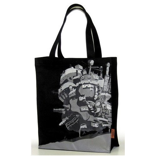 4 left - Tote Bag - Howl's Moving Castle - Ghibli - out of production - RARE (new)