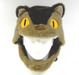 Plush Hat - Nekobus & Kurosuke - Totoro - Ghibli - Sun Arrow Original Product (new)