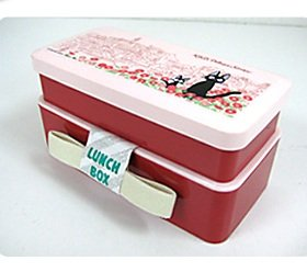 2 tier lunch bento box made in japan jiji kiki 39 s delivery service 2009 no production new. Black Bedroom Furniture Sets. Home Design Ideas