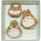 Baby Gift Set - 3 Whistle - Organic - Totoro & Nekobus - Ghibli - out of production (new)