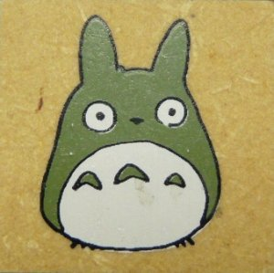 1 left - Rubber Stamping - Totoro - Ghibli - RARE (new)
