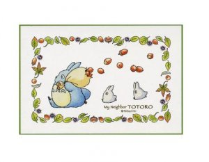 150 pieces Mini Jigsaw Puzzle - Chu & Sho Totoro - Ghibli - 2010 (new)