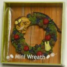 2 left - Mini Wreath - Sho Totoro & Nekobus & Kurosuke - Ghibli - out of production (new)
