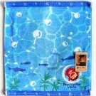 Wash Towel - Embroidery & Applique - Ponyo - Ghibli - 2010 (new)