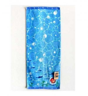 Face Towel - Embroidery & Applique - Ponyo - Ghibli - 2010 (new)