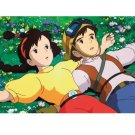 150 pieces - Mini - Jigsaw Puzzle - Sheeta & Pazu - Laputa - Ghibli - Ensky - 2010 (new)