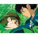 150 pieces Mini Jigsaw Puzzle - San & Ashitaka - Mononoke - Ghibli - Ensky - 2010 (new)