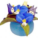 2 left - Ornament - Spiderwort - Totoro & Chu & Sho &Kurosuke - Ghibli -outproduction (new)