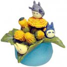 1 left - Ornament Figure - Sonchus Oleraceus - Totoro & Chu & Sho & Kurosuke - no production (new)