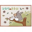 Blanket (S) - 70x100cm - Cotton - Totoro & Sho & Kurosuke - Ghibli - made in Japan - 2010 (new)