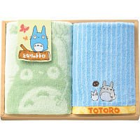 Towel Gift Set - Wash & Loop Towel - Totoro - Ghibli - 2010 (new)