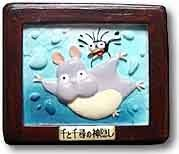 2 left - Magnet - Bou nezumi & Haedori - Spirited Away - Ghibli - out of production (new)