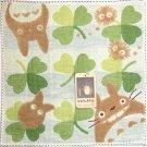 Mini Towel - Totoro & Chu & Sho & Kurosuke & Clover - made in Japan - Ghibli - 2010 (new)