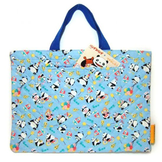 Tote Bag - Quilt - Panda Kopanda / Panda Go Panda - Ghibli - 2010 (new)