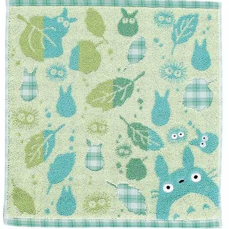 Hand Towel - asatuyu - green - Totoro - Ghibli - 2007 (new)