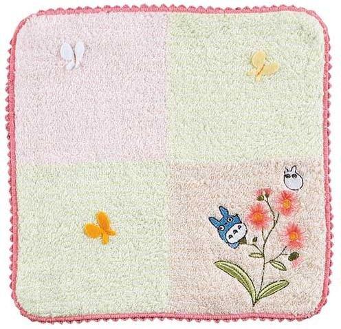Mini Towel - butterfly - Embroidery - Chu & Sho Totoro - Ghibli - 2009 (new)