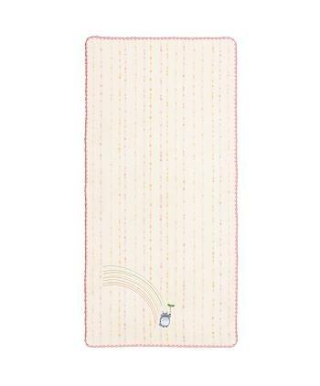 Bath Towel - Non-Twisted Thread - Totoro Applique - rainbow - pink - Ghibli - 2007 (new)