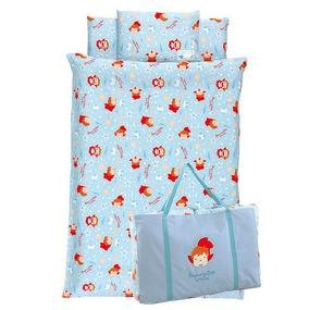 Kid's Bed 7 Set - Blanket & Case + Mat & Case + Pillow & Case + Bag - Ponyo - Ghibli - 2010 (new)