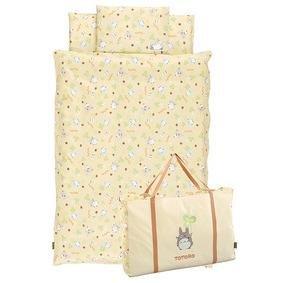 Kid's Bed 7 Set - Blanket & Case + Mat & Case + Pillow & Case + Bag - Totoro - Ghibli - 2010 (new)